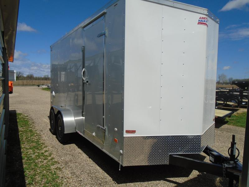 2018 American Hauler Industries 7x16 Arrow Enclosed Cargo Trailer