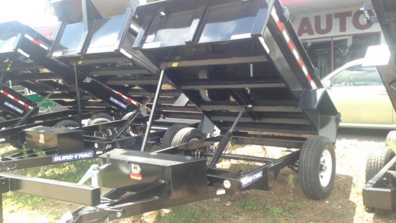2017 Sure-Trac 5 X 8 Dump Trailer