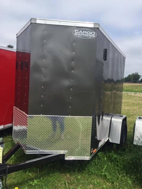 2020 Cargo Express 5x8 SA XL Series Enclosed Cargo Trailer