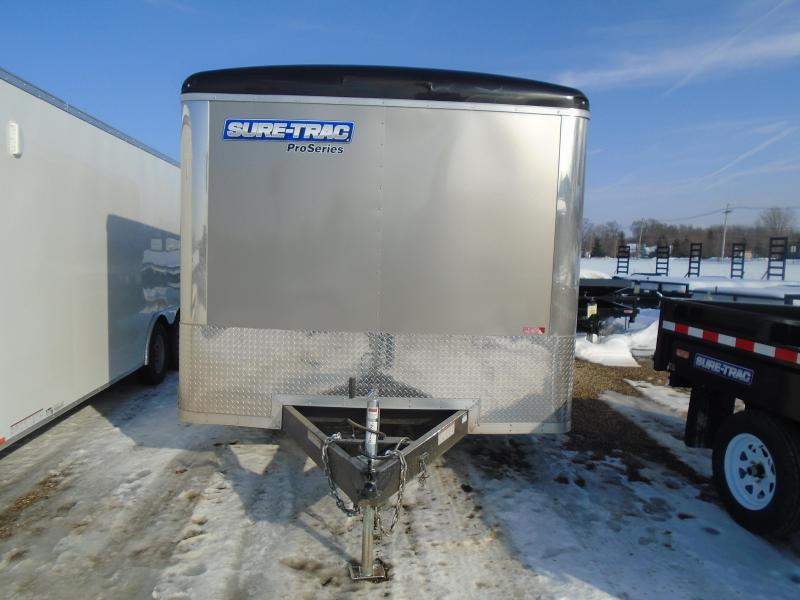 2018 Sure-Trac 8.5x24 Pro Series Car / Racing Trailer