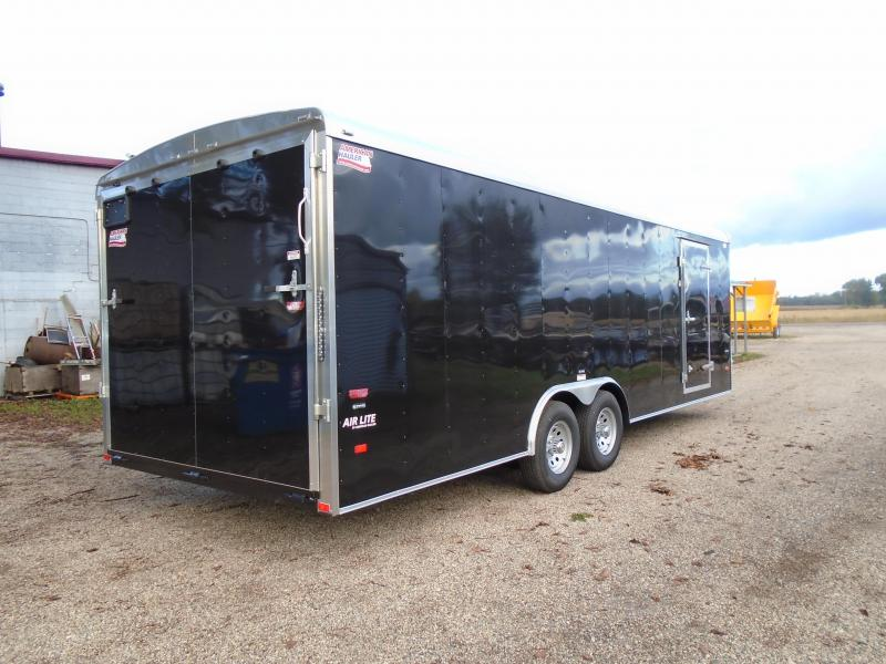 2019 American Hauler Industries 8.5x24 Air Lite Enclosed Cargo Trailer