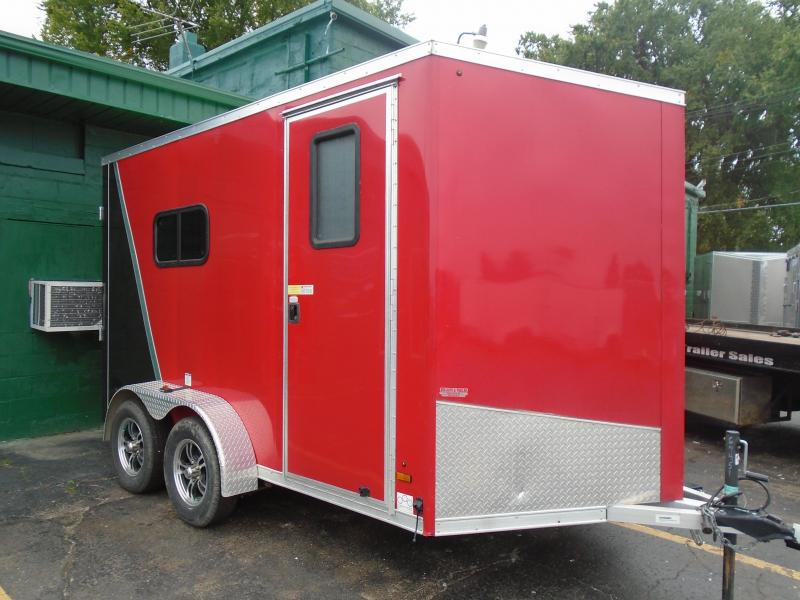 2018 Amera-Lite 7x12 aluminum ATTX Enclosed Cargo Trailer