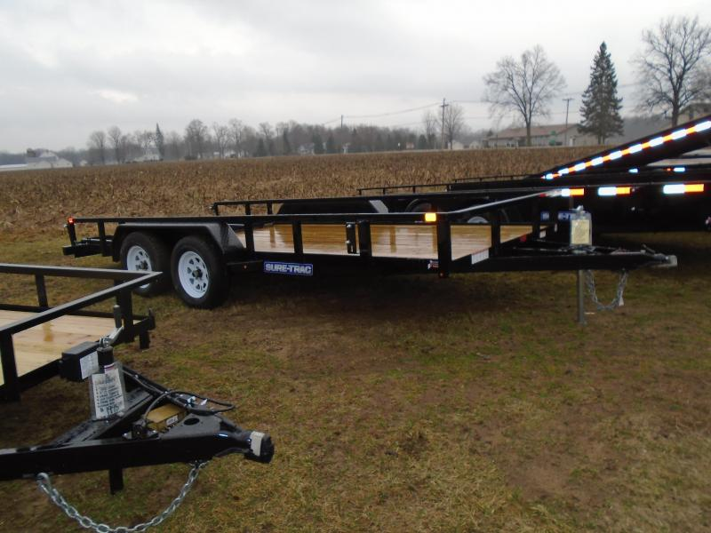 2017 Sure-Trac 7X16 Landscape Trailer