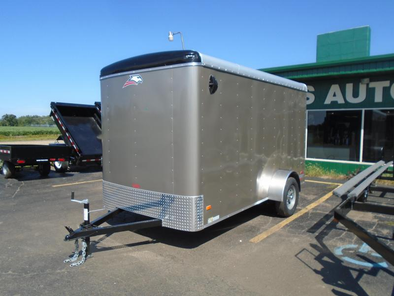 2019 American Hauler Industries 6x12 SA Enclosed Cargo Trailer