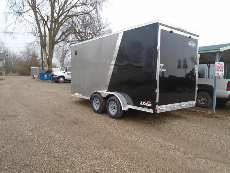 2020 Cargo Express 7x16 7k aluminum AX Series Enclosed Cargo Trailer