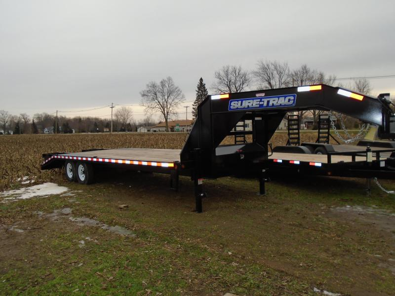 Sure-Trac 20 + 5 Gooseneck Deckover Equipment Trailer