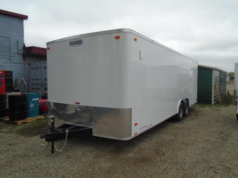 2020 Cargo Express 8.5x24 10k EX Series Car / Racing Trailer