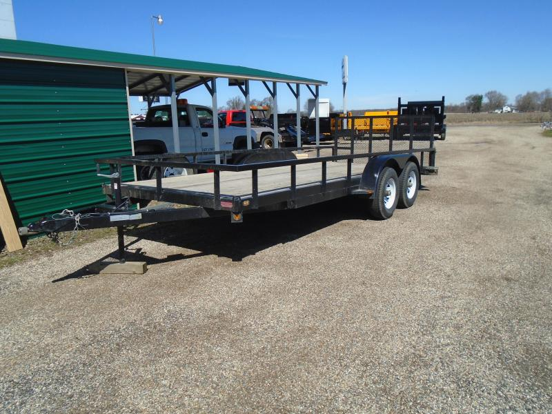 2018 GE used 18 landscape deluxe Utility Trailer