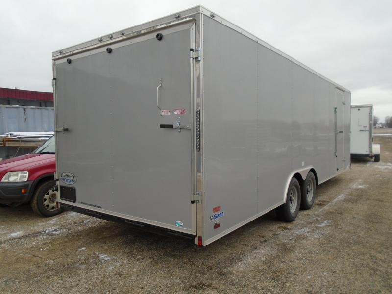 2018 Continental Cargo V Series 8.5x24 Tapered Front Enclosed Cargo Trailer