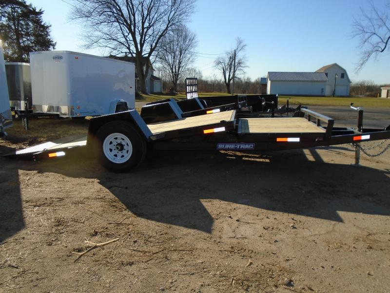 2017 Sure-Trac 16 Tilt Flatbed Trailer
