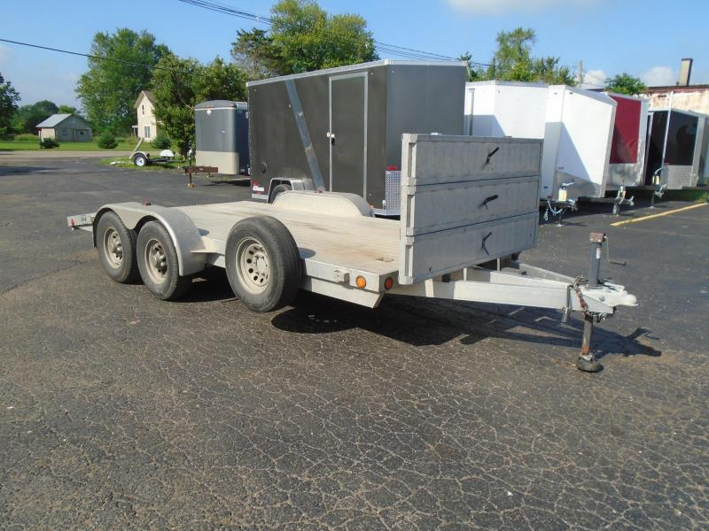 2009 R and R Trailers 16 all aluminum 10k auto/ machinery Equipment Trailer