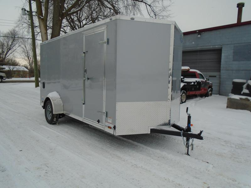 2018 Continental Cargo V Series 6.5x14 Enclosed Cargo Trailer
