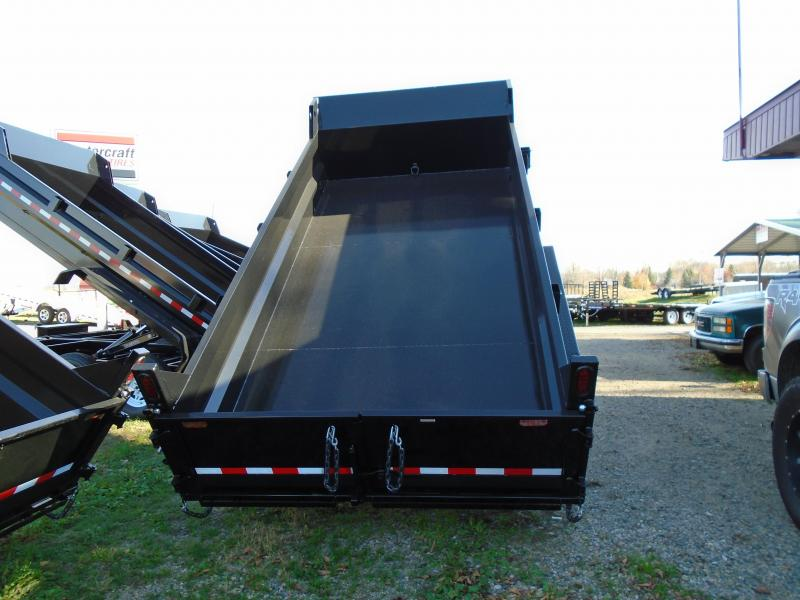 2017 Sure-Trac 82 X 14 Scissor Lift Dump Trailer
