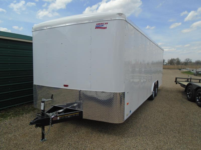 2018 American Hauler Industries 8.5x24 Air Light Enclosed Cargo Trailer