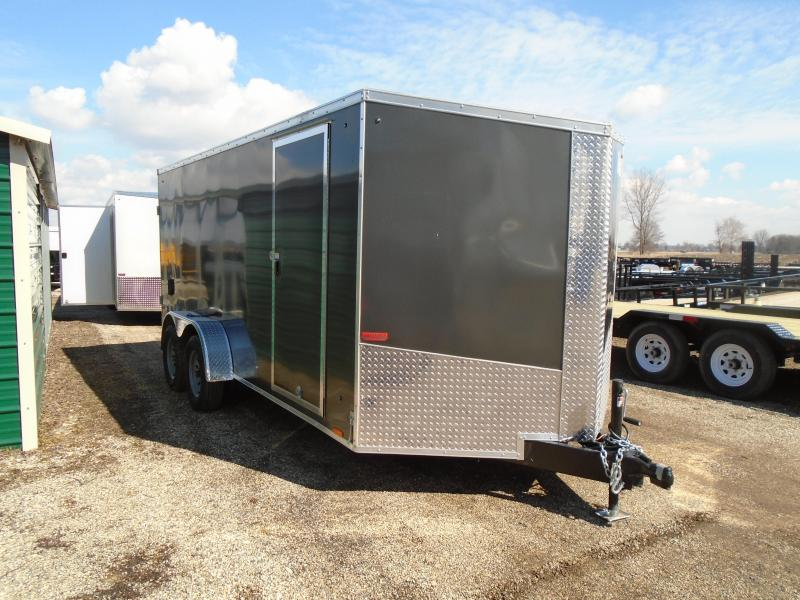 2019 Pace American 7X16 7K Enclosed Cargo Trailer