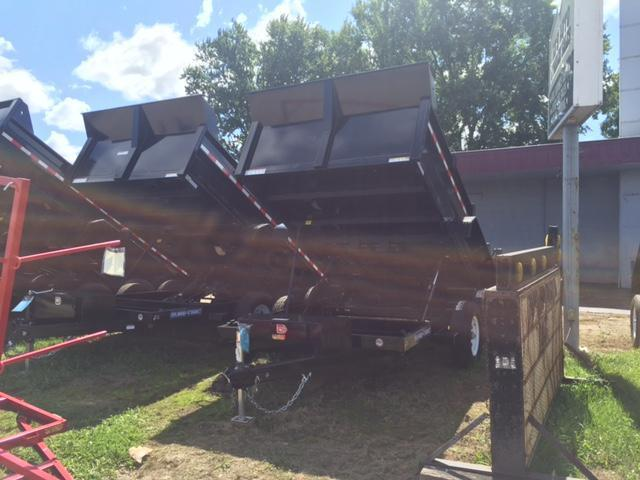2017 Sure-Trac 82 X 12 Dump Trailer