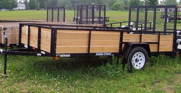 5 X 8 - 3 BOARD HIGH TRAILERS
