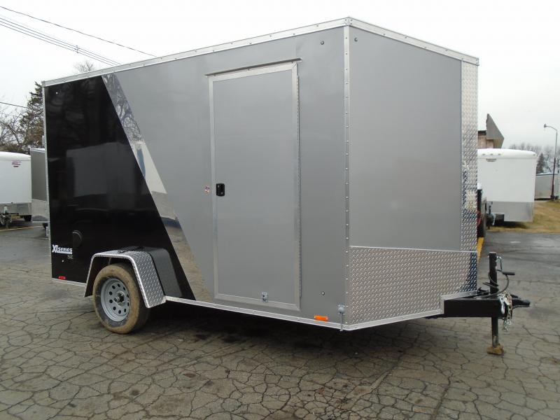 2017 Cargo Express 7 x 12 Enclosed Cargo Trailer