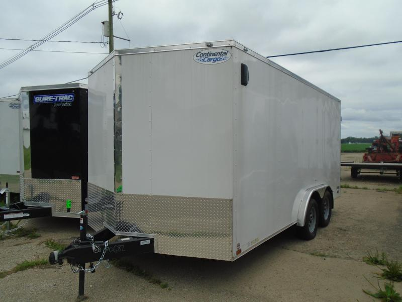 2020 Continental Cargo 8.5x16 V Series 7k Car / Racing Trailer