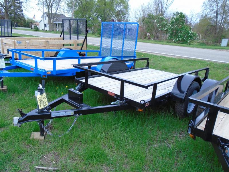 2017 GE 5X8 Light Duty Tilt Utility Trailer