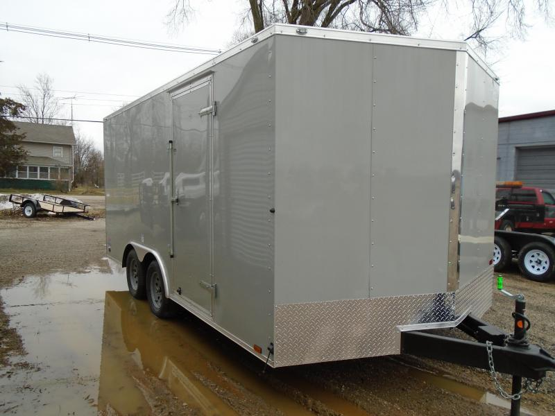 2018 Continental Cargo 8.5x16 V Series Enclosed Cargo Trailer
