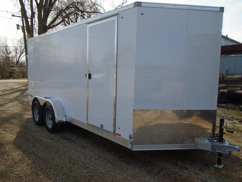 2018 Cargo Express AX Series 7X16 Enclosed Cargo Trailer