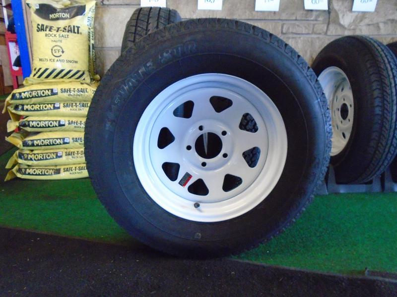 Trailer Rim and Tire Assembly