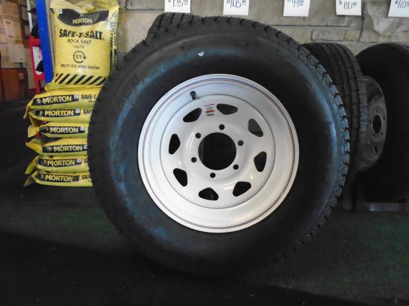 Trailer Tire And Rim assembly