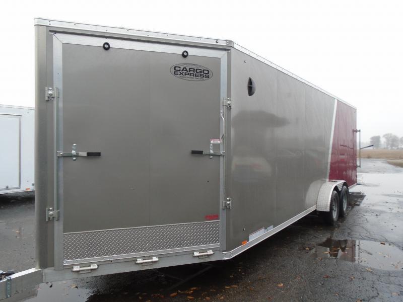 2020 Cargo Express 7x29 7k Snowmobile Trailer