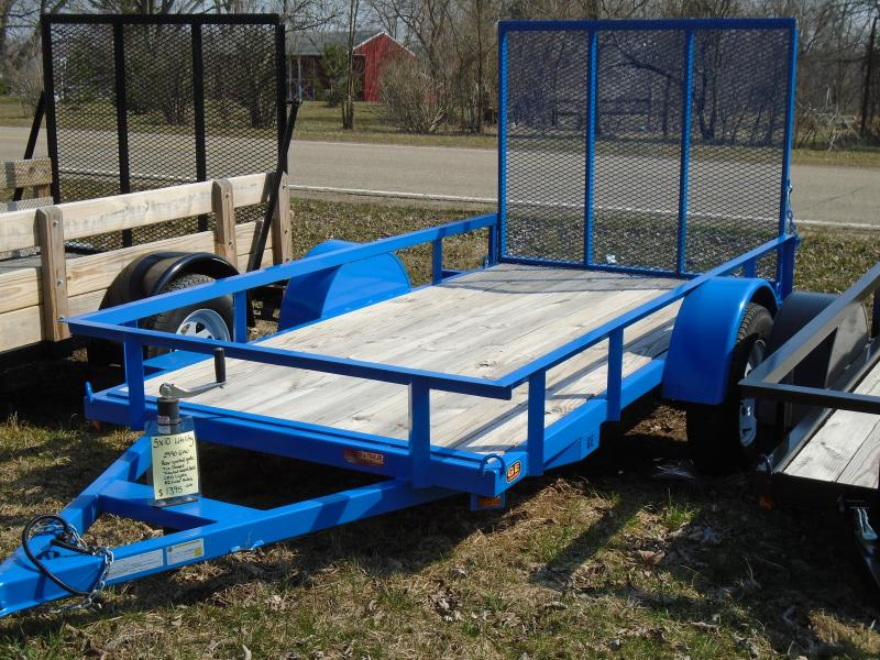 2018 GE 5x10 Utility Equipment Trailer