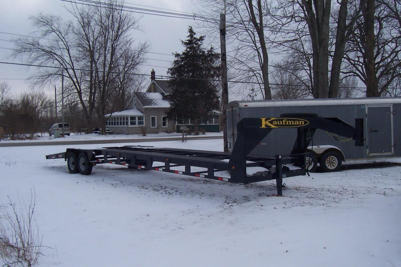 2014 Kaufman Trailers 35 2 PLACE CAR HAULER Car / Racing Trailer
