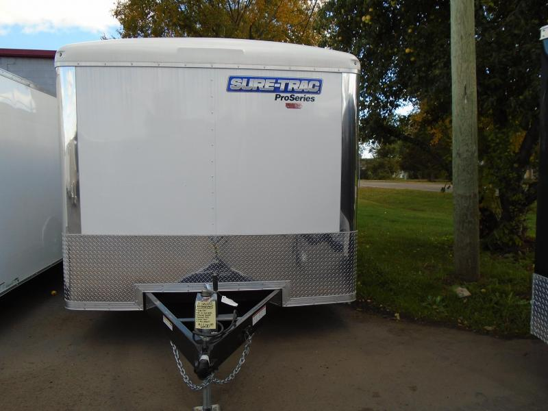 2017 Sure-Trac 8.5 X 24 Auto Transport Enclosed Cargo Trailer