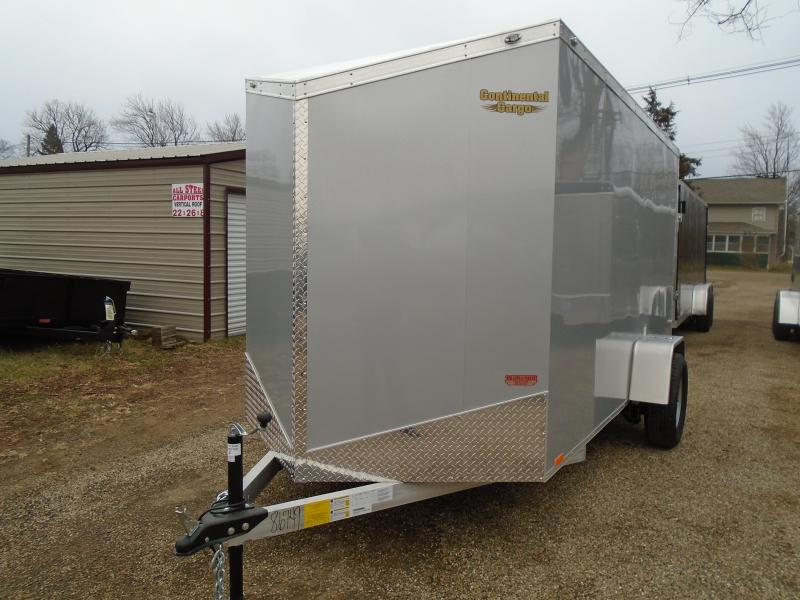 2018 Continental Cargo 6x12 V Series Enclosed Cargo Trailer