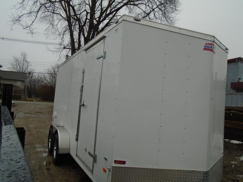 2019 American Hauler Industries 7x16 Arrow Enclosed Cargo Trailer