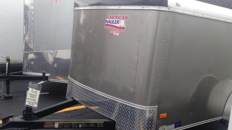2017 American Hauler Industries 5 X 10 Enclosed Cargo Trailer