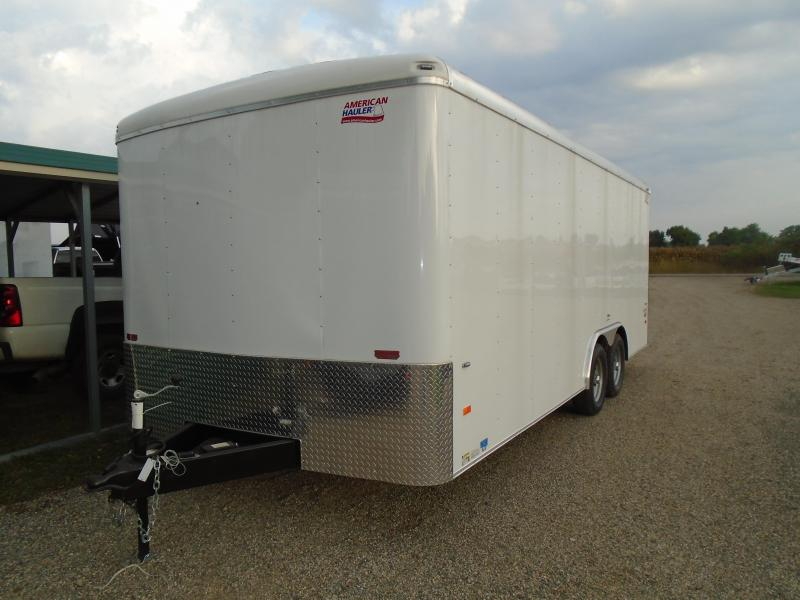 2019 American Hauler Industries 8.5x20 Airlite Enclosed Cargo Trailer