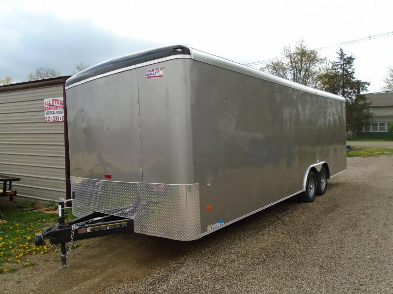 2018 American Hauler Industries Air Light 8.5x24 Enclosed Cargo Trailer