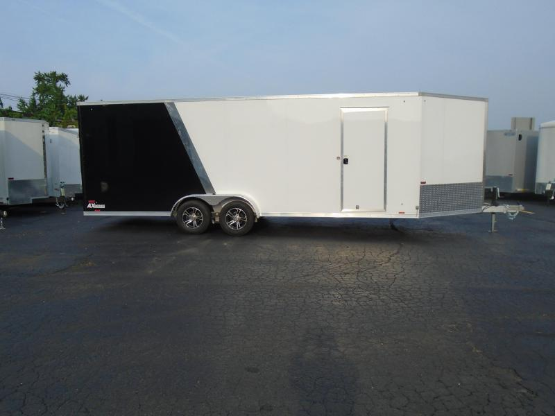 2019 Cargo Express 7x27 AX Series Snowmobile Trailer