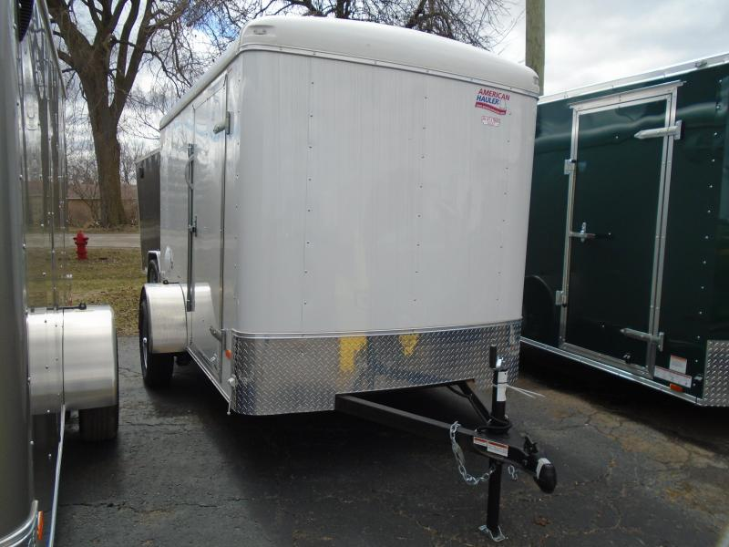 2018 American Hauler Industries 6x10 Air Light Enclosed Cargo Trailer