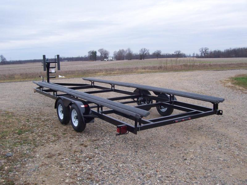 24' Float On Pontoon Trailer