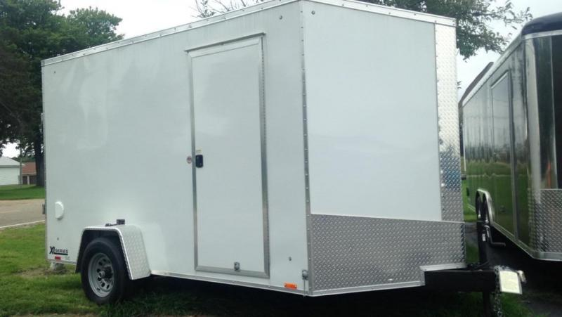 2017 Cargo Express 7 X 12 UTV Enclosed Cargo Trailer