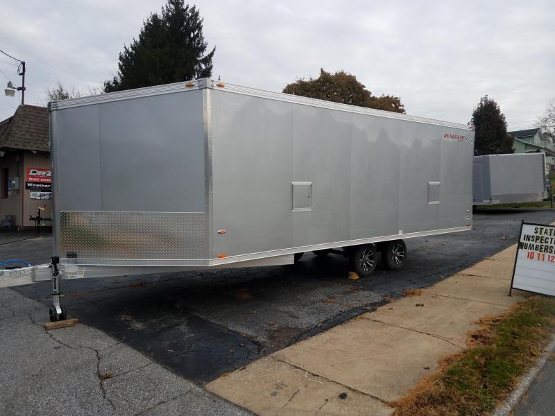 2019 Rance Aluminum Trailers RENEGADE 8X20 Snowmobile Trailer