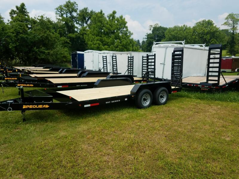 2019 Pequea SKIDSTEER 16' Equipment Trailer