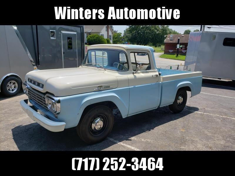 1959 Ford F100 Custom Cab Truck