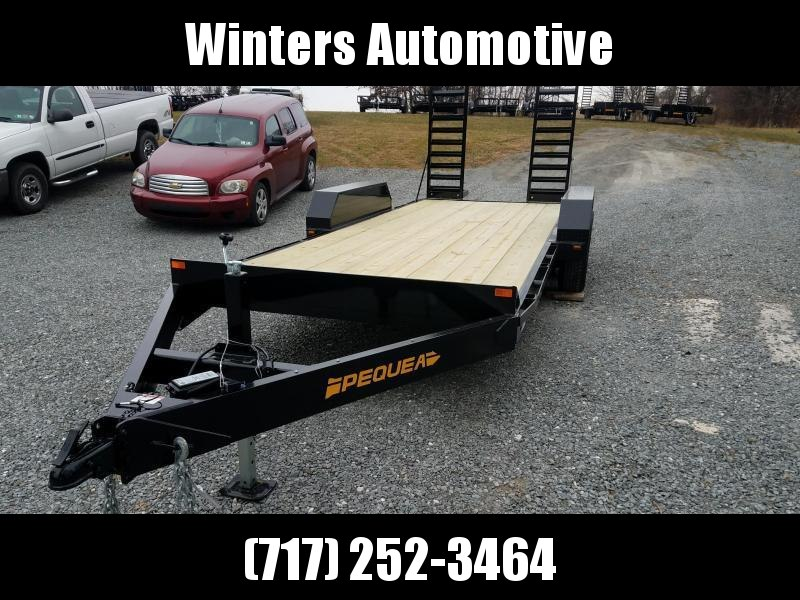 2019 Pequea SST 20 9999 LBS Equipment Trailer