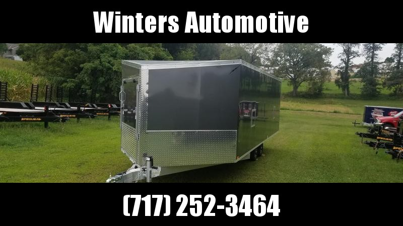 2020 Lightning Trailers LTFES820TA Snowmobile Trailer