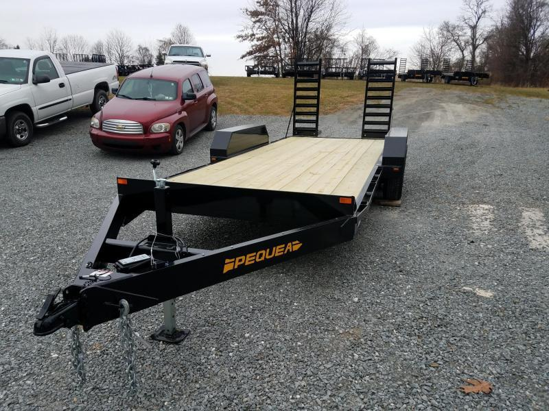 2018 Pequea SKID STEER 20 Equipment Trailer
