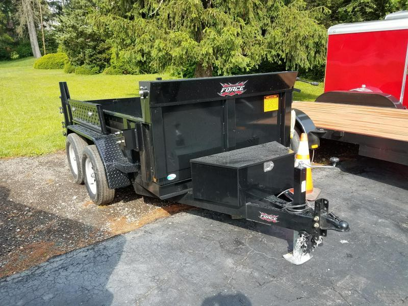 2018 Forest River Inc. 5x10 Dump Trailer