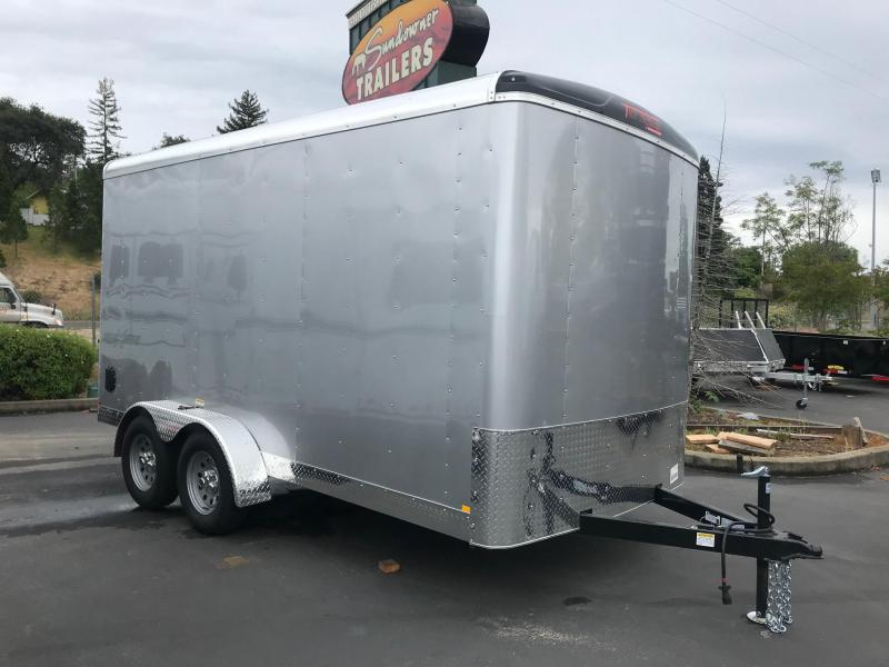 2019 TNT 7 x 14 Transit Enclosed Cargo Trailer