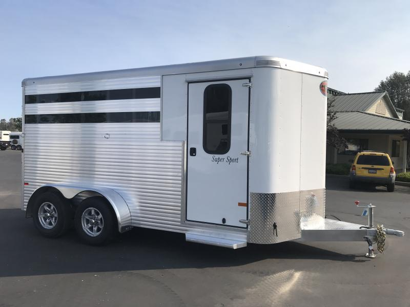 2019 Sundowner Trailers Super Sport 3H BP Horse Trailer